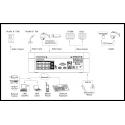 Dahua Enregistreur vidéo numérique 1U élégant Penta-brid 4K 8 canaux - XVR7108E-4KL-B-X