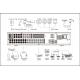 Enregistreur Dahua Penta-Brides 16 BNC jusqu'à 4MP VGA/HDMI 8HDD Alarmes