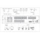 Dahua Enregistreur vidéo numérique Penta-brid 4K 2U 16 canaux - XVR8816S-4KL-I