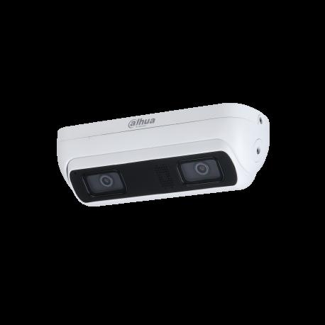 "Caméra Comptage 3MP2CMOS 1/2.8 ""3MP"" à balayage progressif Triple flux H.265 et H.264 /25fps IR10/IP67 POE"
