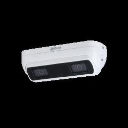 Dahua Caméra réseau WizMind à double objectif 3MP - IPC-HDW8341X-3D-S2