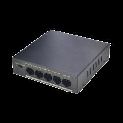 Dahua Commutateur PoE à 4 ports (non géré) - PFS3005-4P-58