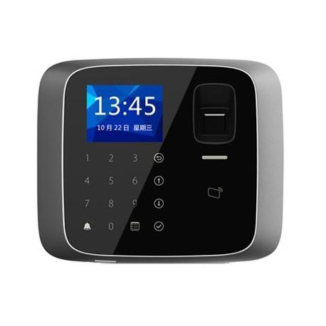 Terminal biométrique de contrôle d'accès avec lecteur de cartes