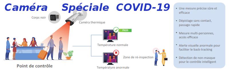 Câmera especial COVID-19